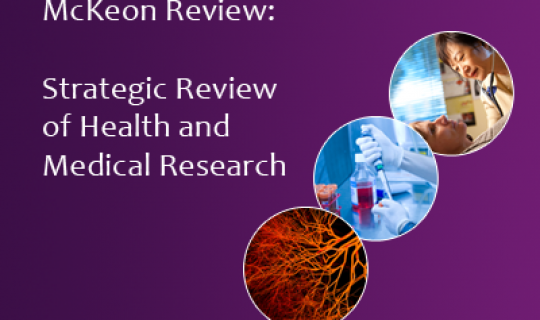 Strategic Review of Health and Medical Research: The McKeon Review