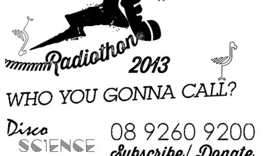 RADIOTHON 2013: THE FIRST DISCOTHON