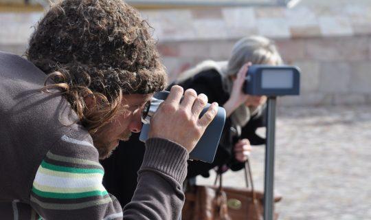 Binoculars to . . . Binoculars from . . .