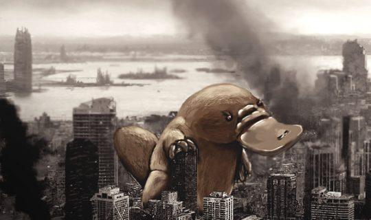 Platypus Godzilla