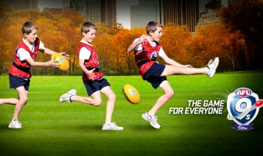 Kick Goals with AFL 9s