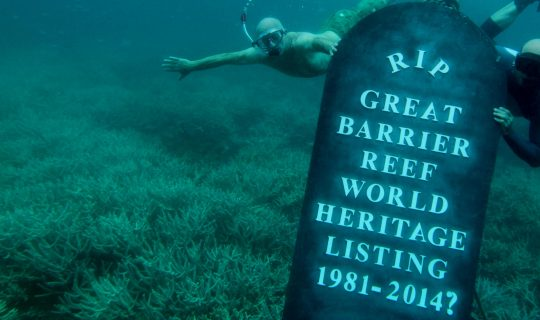 Dredging & Dumping on the Great Barrier Reef