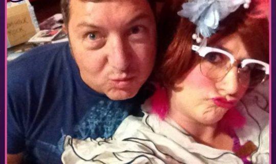 Selfies with Sharron