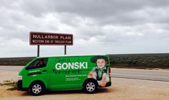 Gonski Vans Roll Out