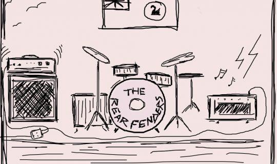 THE REAR FENDERS