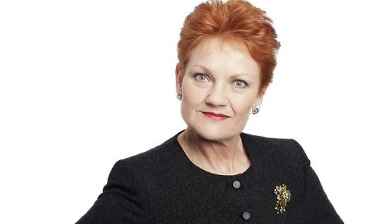 The return of Pauline Hanson