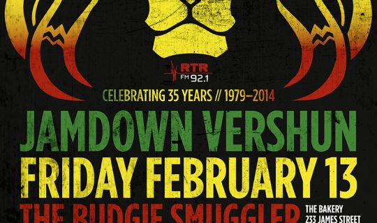 35 YEARS OF JAMDOWN VERSHUN!