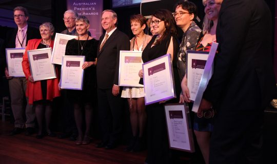 Annual Book Awards to Biennial Book Awards