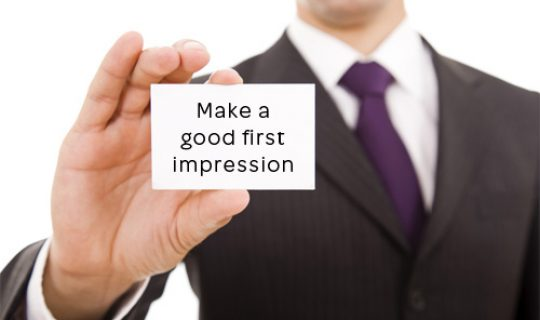 How-To make a good first impression