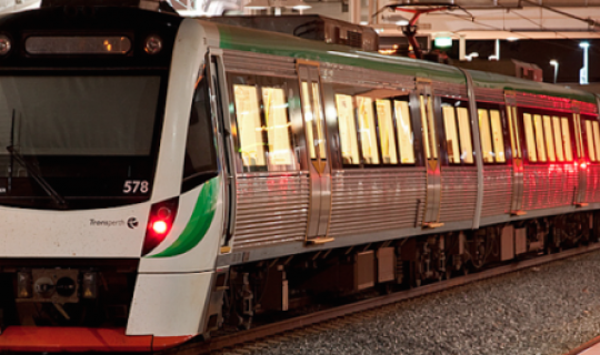 Perth Trains Back on Track