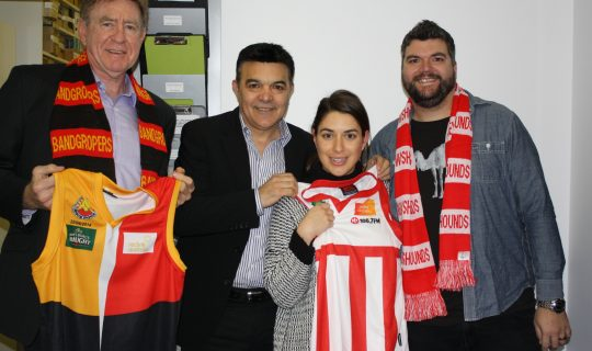 Footy Legends Get Community Cup Fever