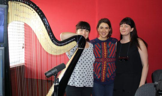 A Harp, Some Bedazzling and a Party for One