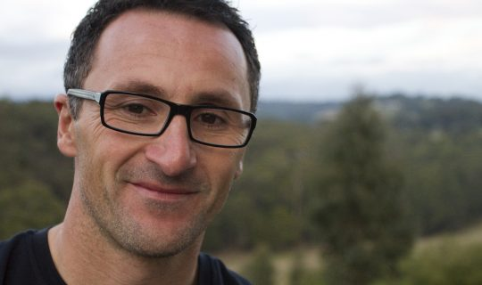 Australian Greens leader Dr Richard Di Natale