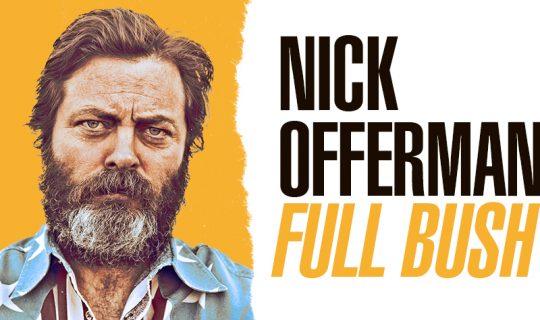 Nick Offerman's Full Bush