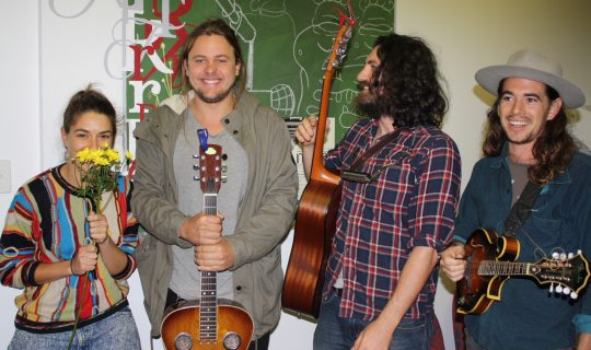 The Justin Walshe Folk Machine