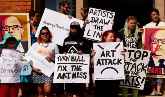 Arts Funding Concerns Continue