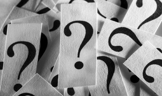 Talk the Talk: Questions, Questions