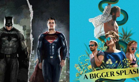 Movie Squad: A Bigger Splash & Batman v Superman: Dawn of Justice