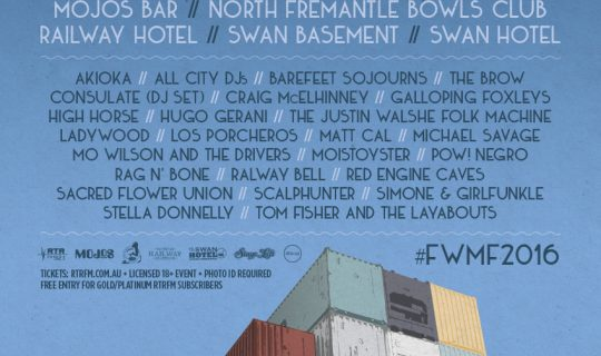 Fremantle Winter Music Festival 2016