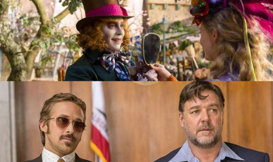 Movie Squad: The Nice Guys & Alice Through the Looking Glass