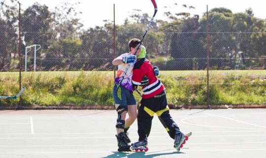 Squad Goals: Street Roller Hockey League