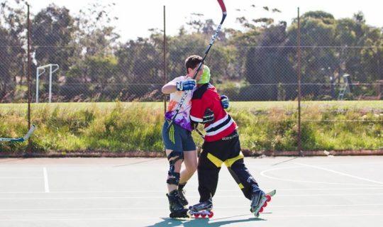 Squad Goals: Street Roller Hockey League