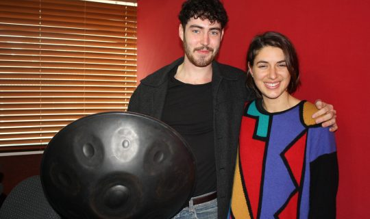 Sam Maher's Heavenly Handpan