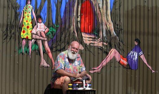 Veteran Artist Casts a Spell