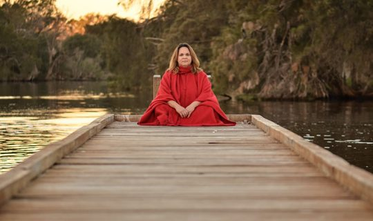 Gina Williams Saves Language in Song