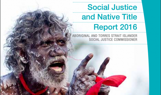 Social Justice and Native Title
