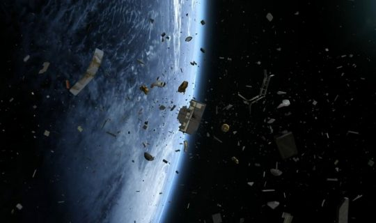 Space Junk on the way