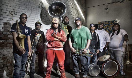 Bennie Pete & the Hot 8 Brass Band