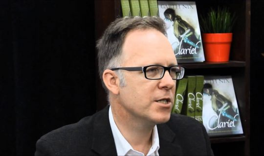 Kissing Frogs with Garth Nix