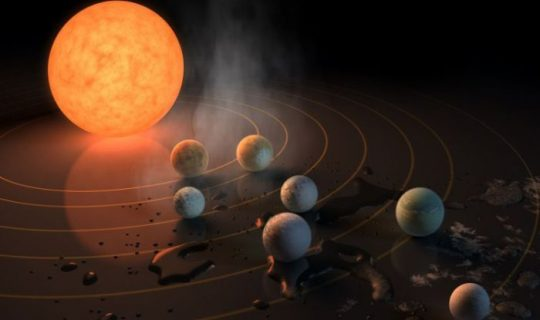 Science Corner: Seven New Planets