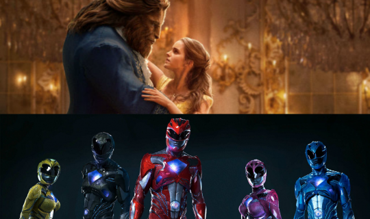 Movie Squad: Beauty and the Beast & Power Rangers