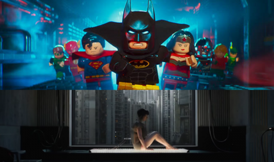 Movie Squad:  Ghost in the Shell & The Lego Batman Movie