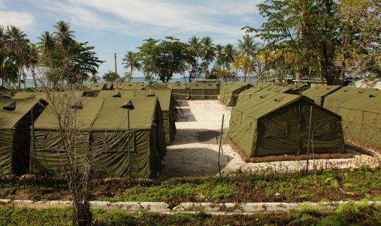 IN THE FIRING LINE: Amnesty Claims Shots Fired at Manus Detainees