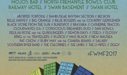 Fremantle Winter Music Festival 2017