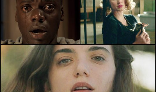 Movie Squad: Get Out, The Zookeper's Wife & The First Girl I Loved.