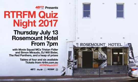 It's team based fun! It's the return of the RTR FM Quiz!