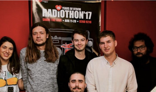 Grievous Bodily Calm: Bringing the Beats along to Radiothon
