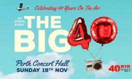 RTRFM Presents THE BIG 40