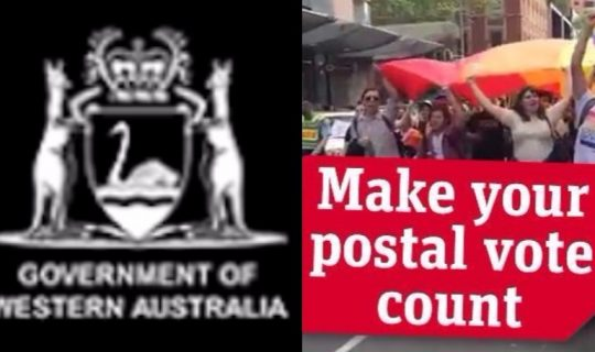 Rallies rally to mobilise postal survey response
