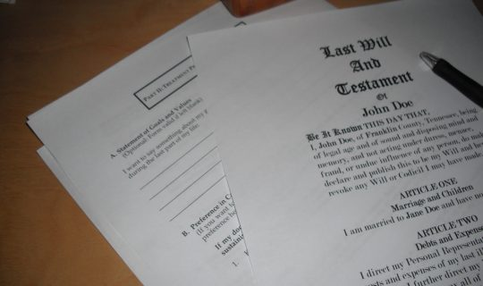 Will you get a will?