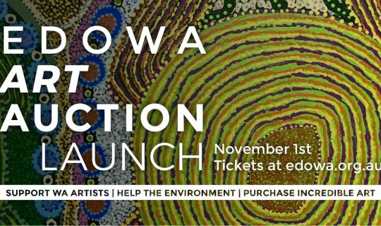 EDOWA Art Auction Launch