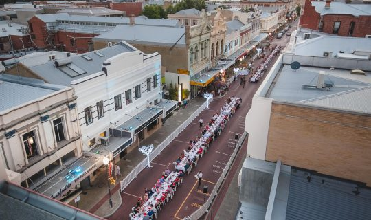 Long Table Dinner Returns to Fremantle Once Again