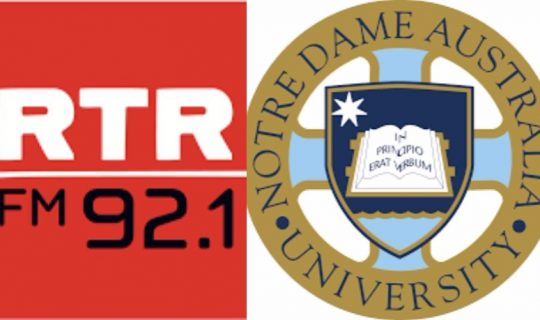 RTR Shines Spotlight On Notre Dame Media & Comm Students