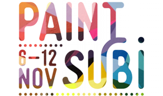 Surrealist Artist on the Paint Subi Initiative
