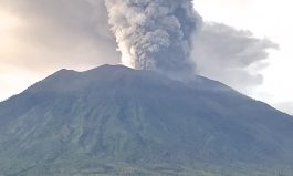 Volcano Eruption in Bali
