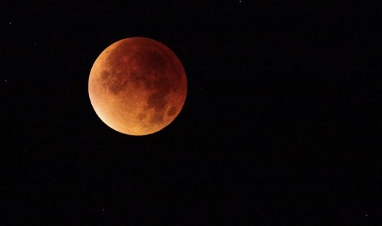 Over a Blood Moon